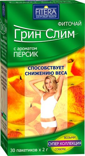 грин слим чай для похудения с лимоном
